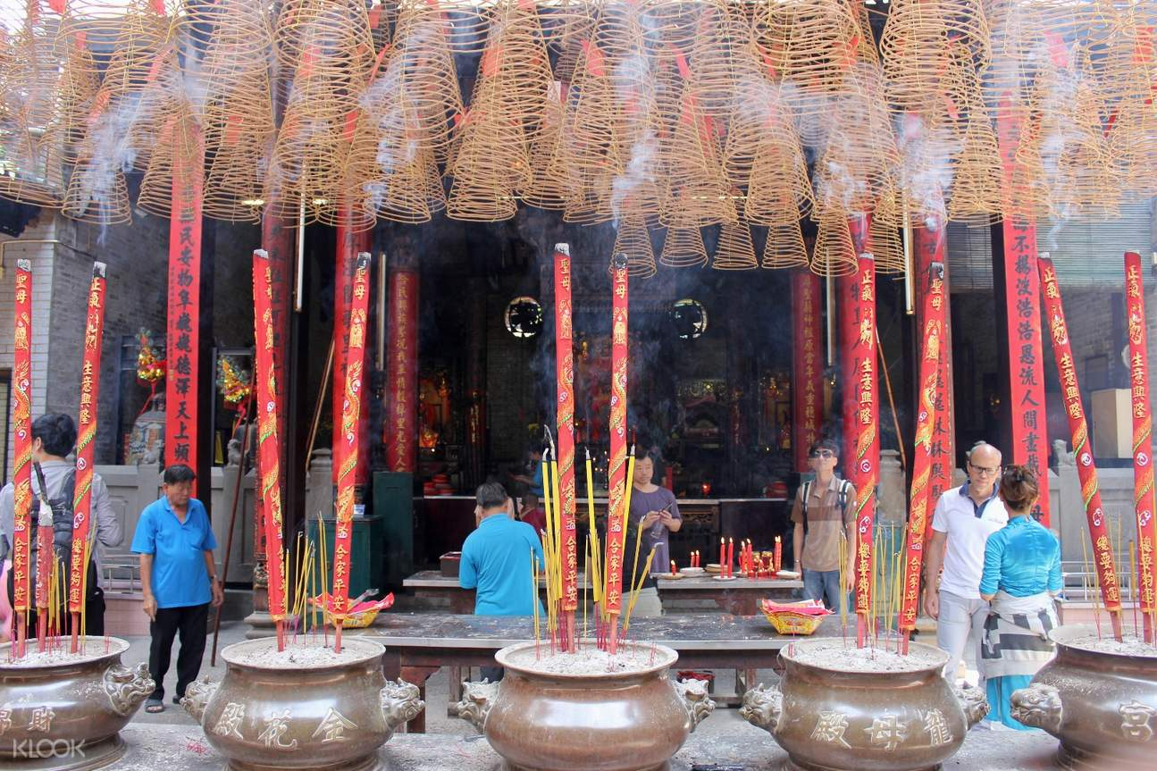 thien hau pagoda saigon adventure day tour with aodai rider