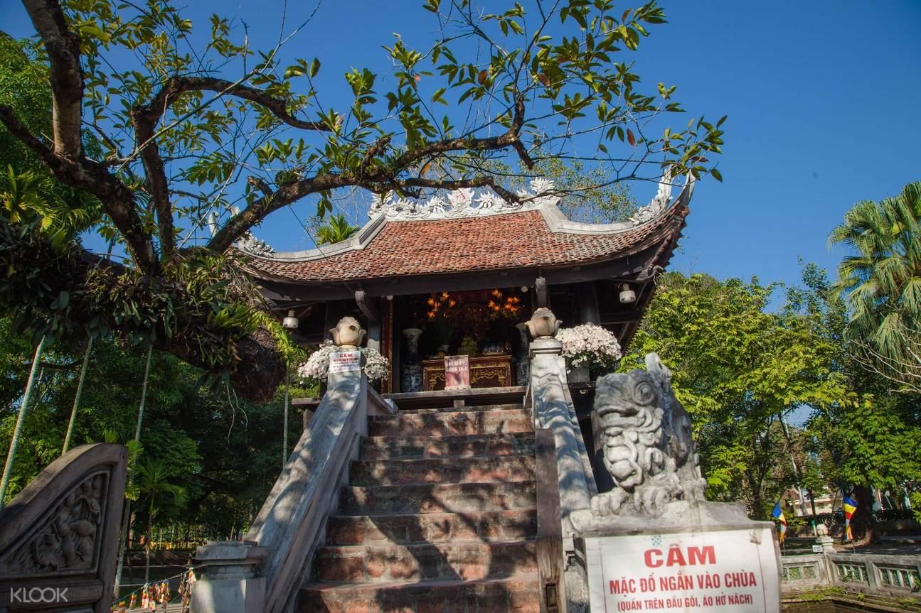 越南 河内美食发现之旅 & 摩托车骑行体验 独柱寺