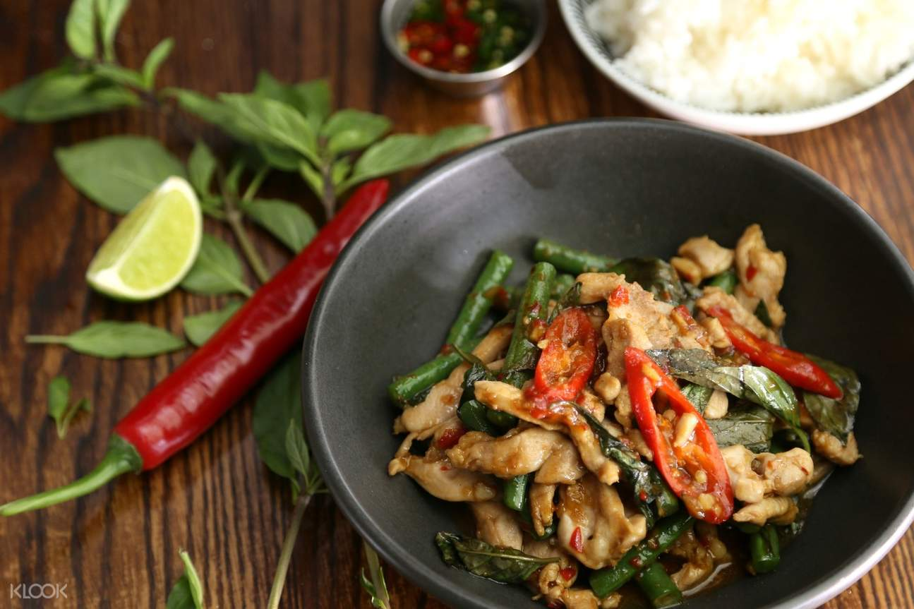 Spicy Thai dish