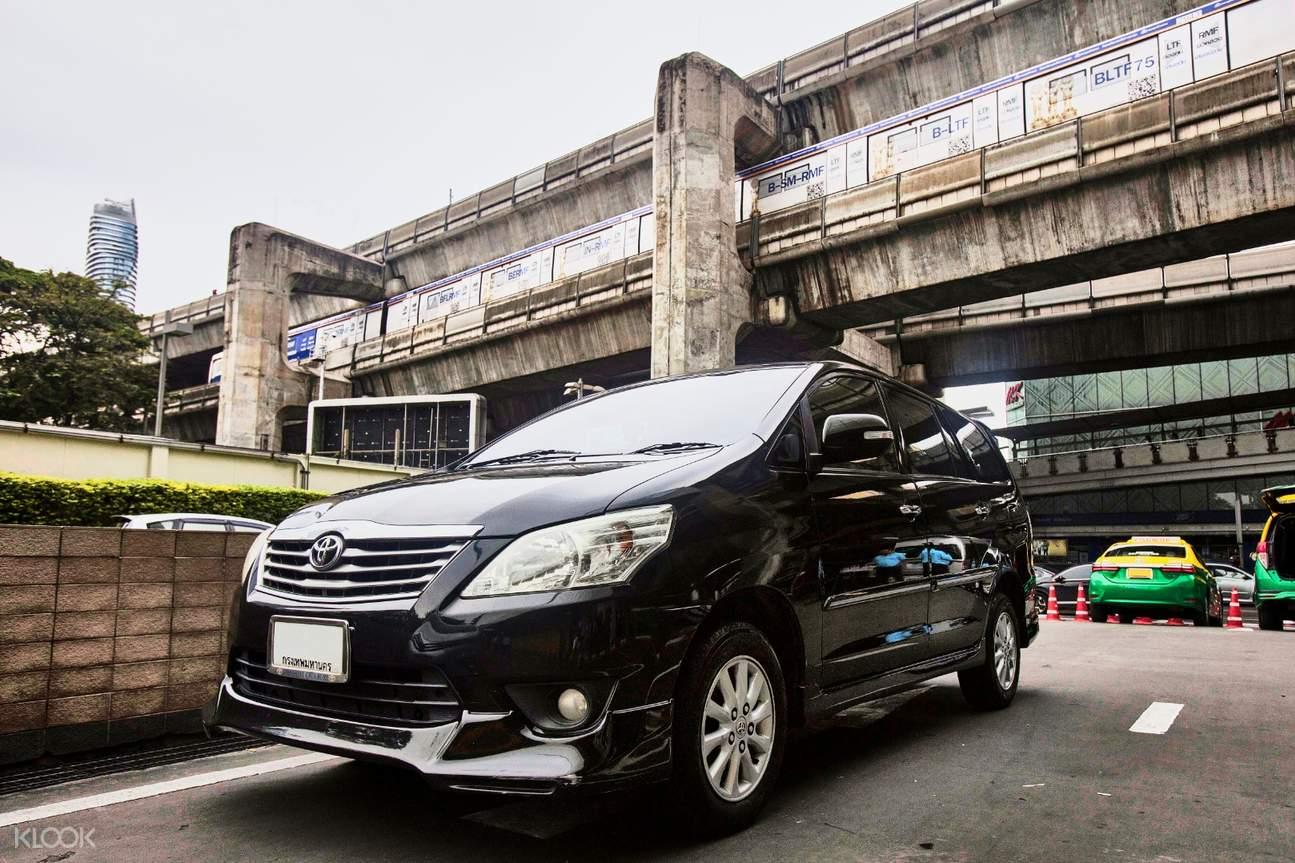 mpv private suvarnabhumi airport transfers for hua hin by thai rhythm
