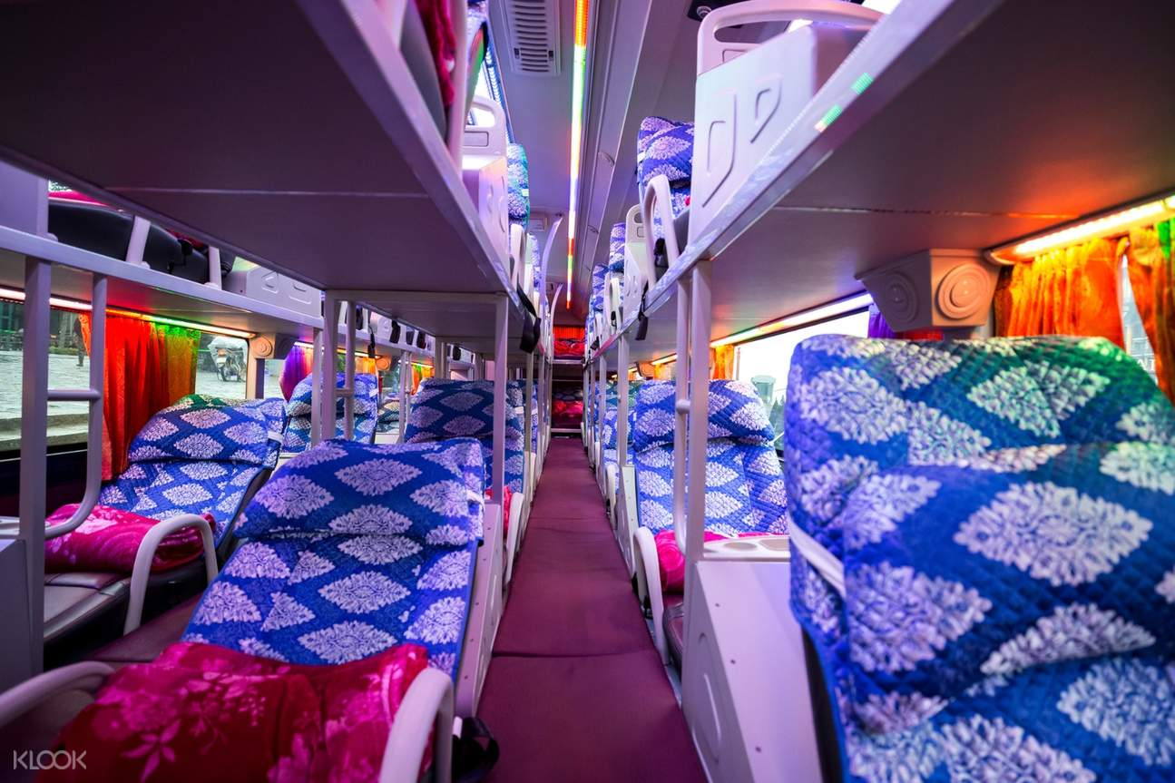 Shuttle Bus Interior 2D1N Sa Pa Tour by Bus from Hanoi (Homestay Accommodations)