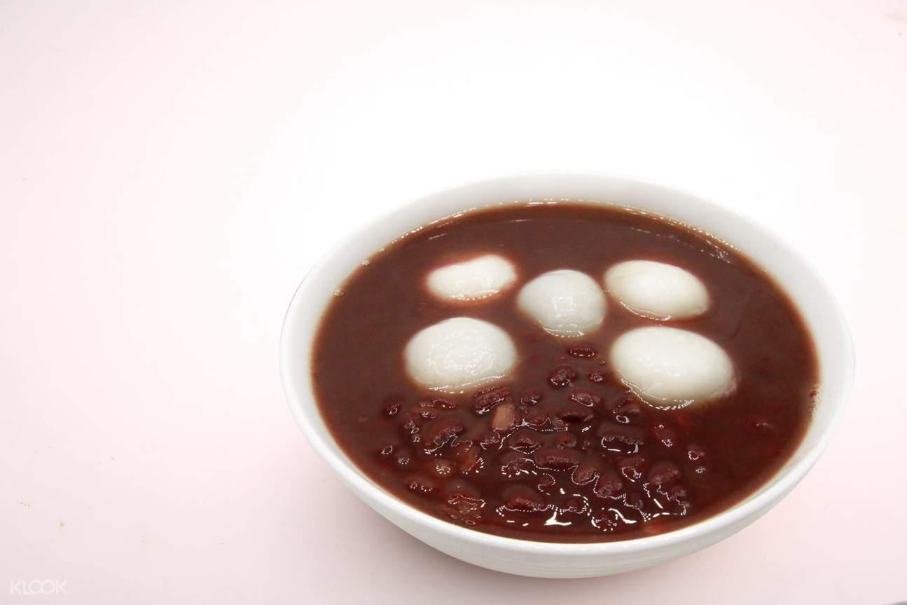 hot dessert soup of Ice Monster at Sun Yat-Sen Memorial Hall Station