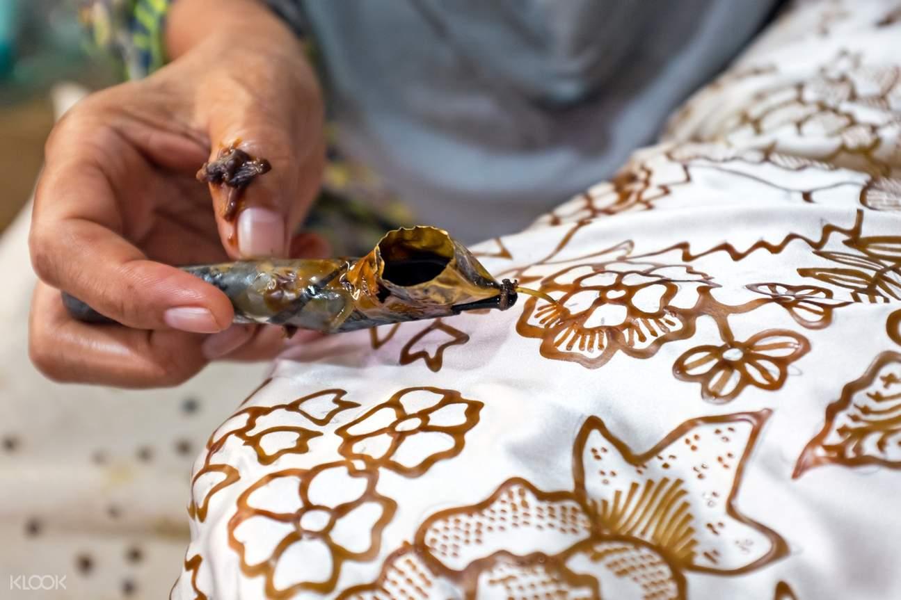 巴厘岛蜡染课程