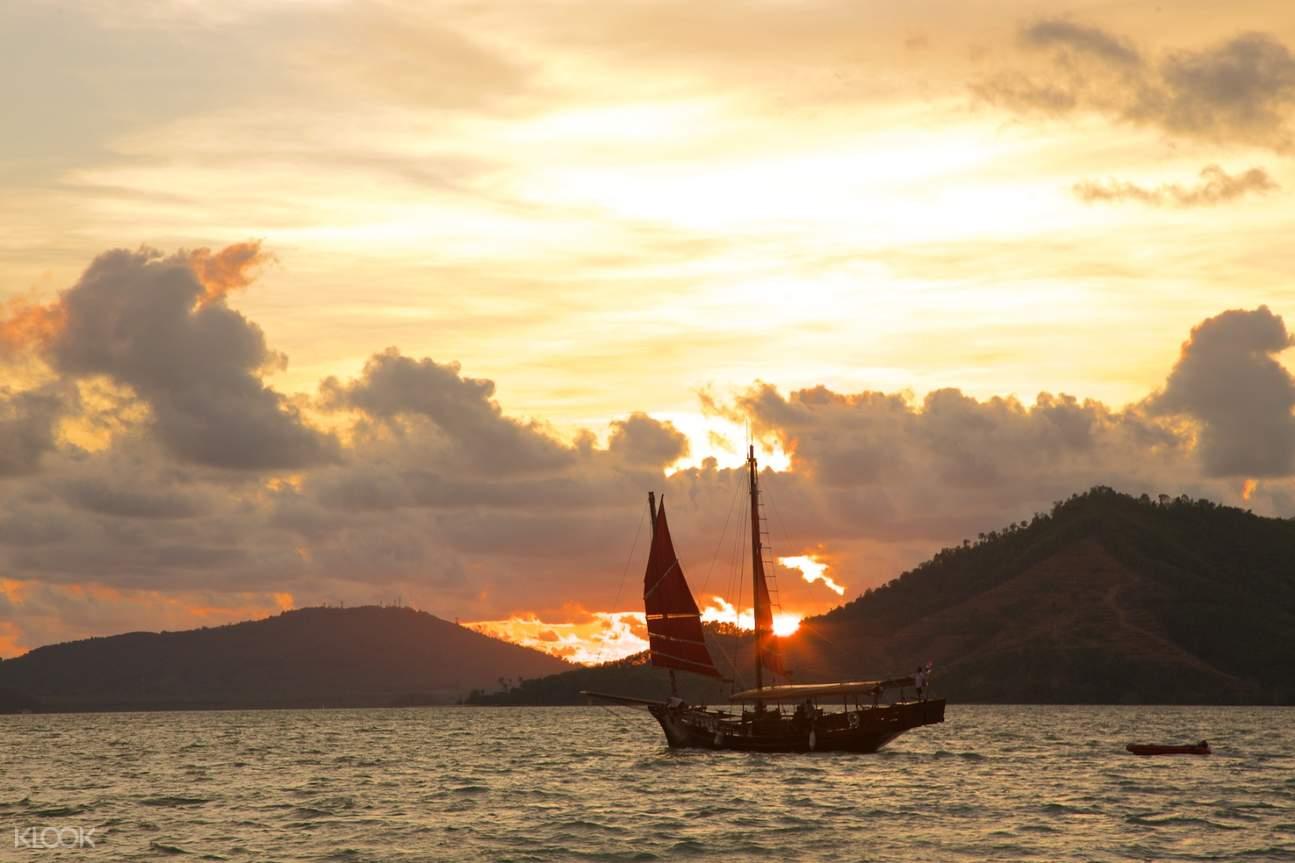 june bahtra sunset dinner cruise