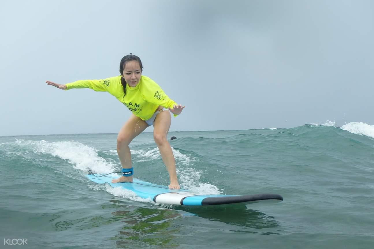 Bali Surf Lesson