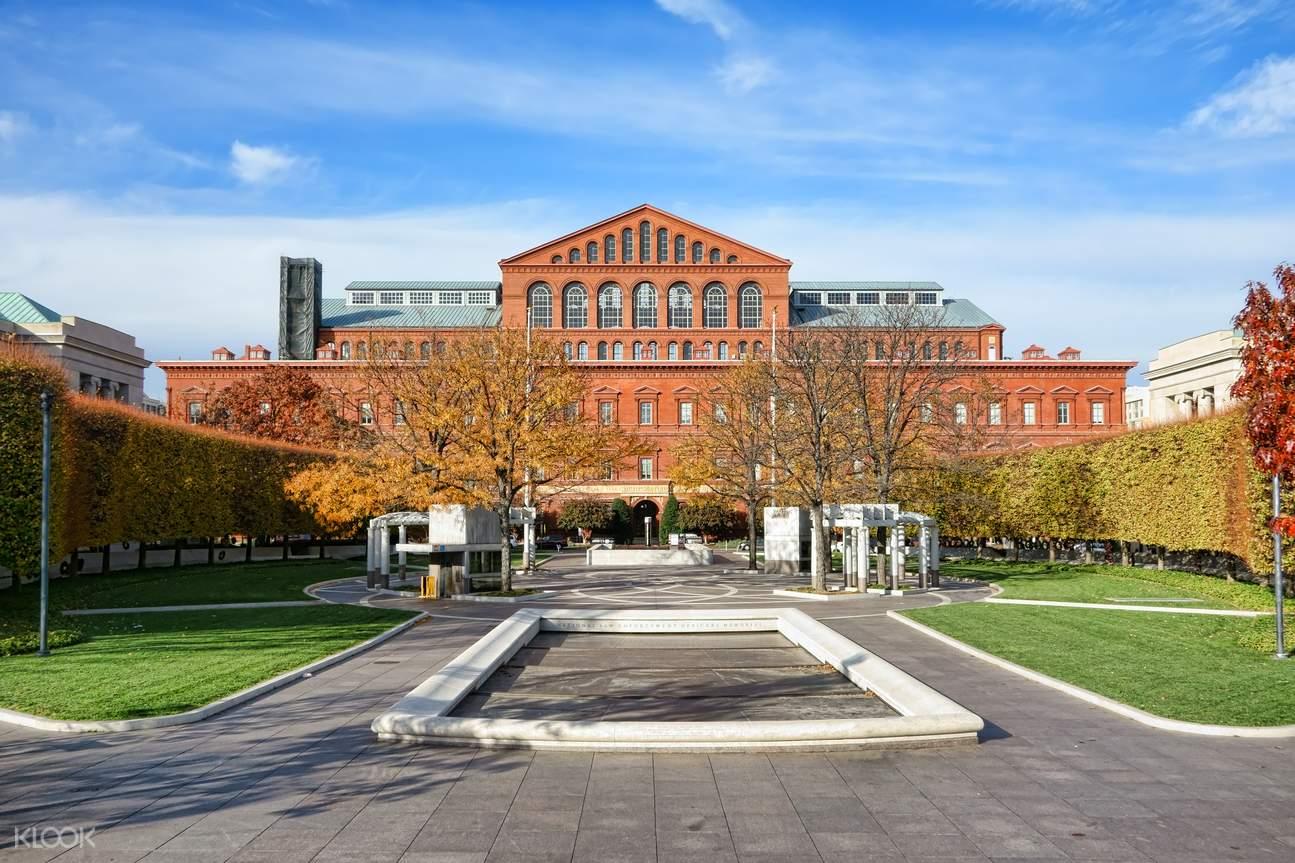 美國國家建築博物館,華盛頓特區景點,華盛頓特區通票