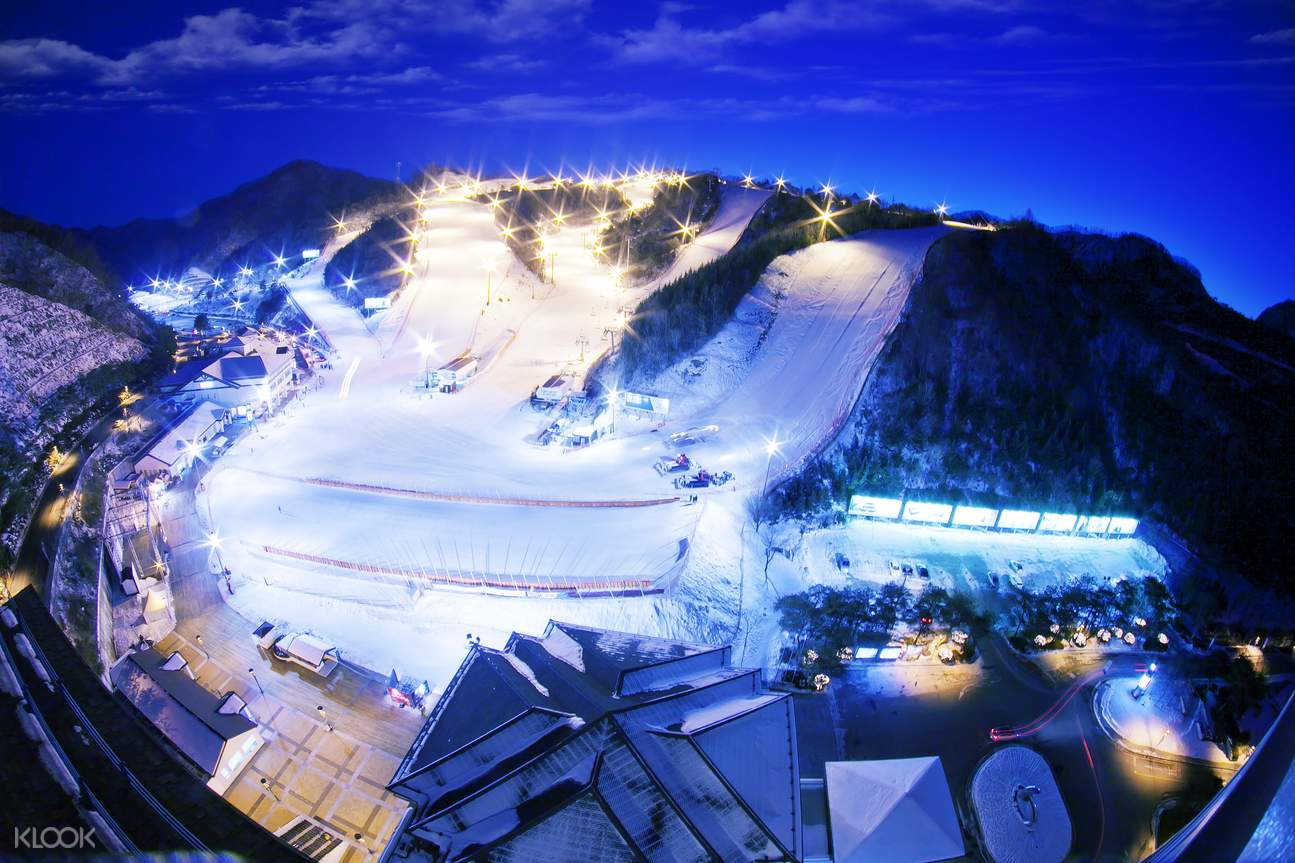 Elysian gangchon ski resort day tour