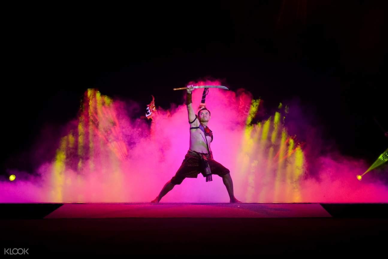 Thai Sword Show at The Arena Muay Thai Phuket