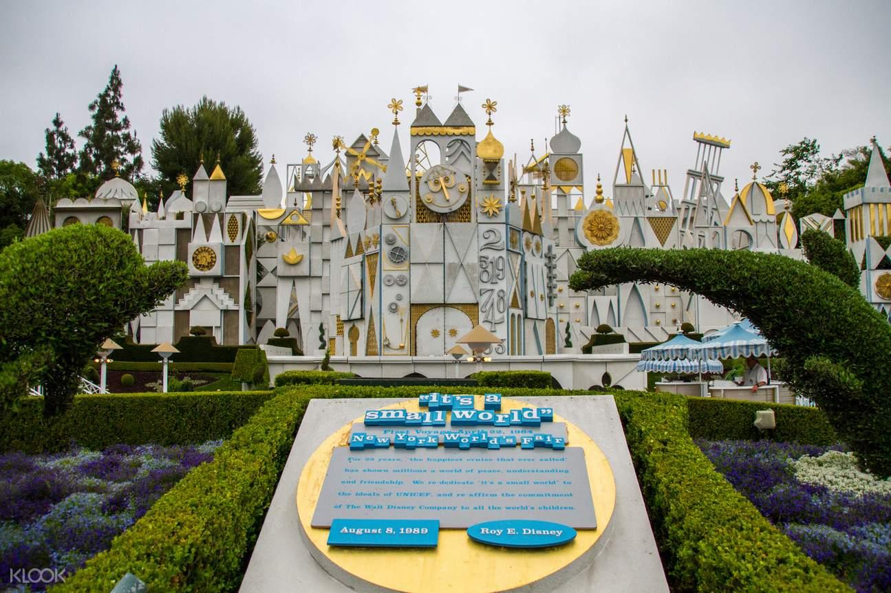 美國加州迪士尼樂園 & 迪士尼加州冒險樂園 多日門票