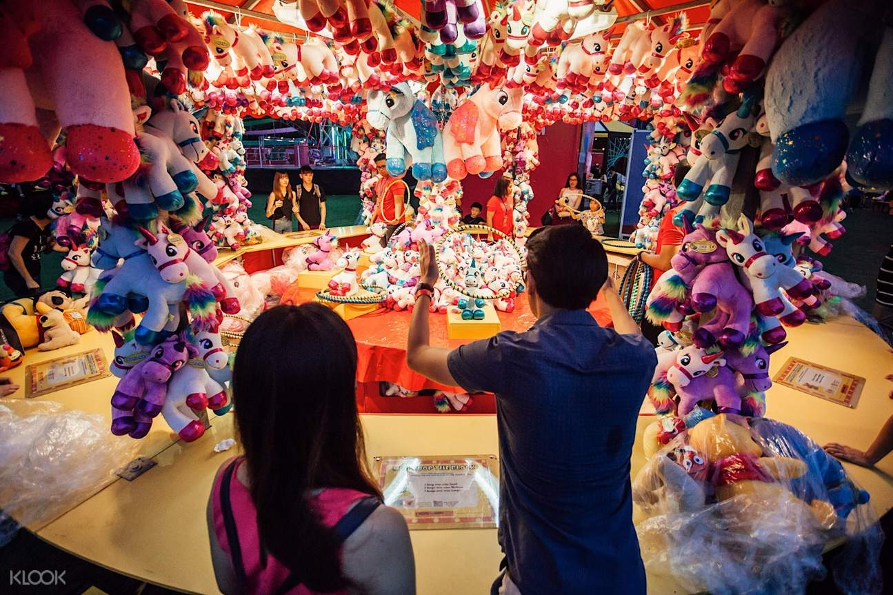 marina bay carnival games