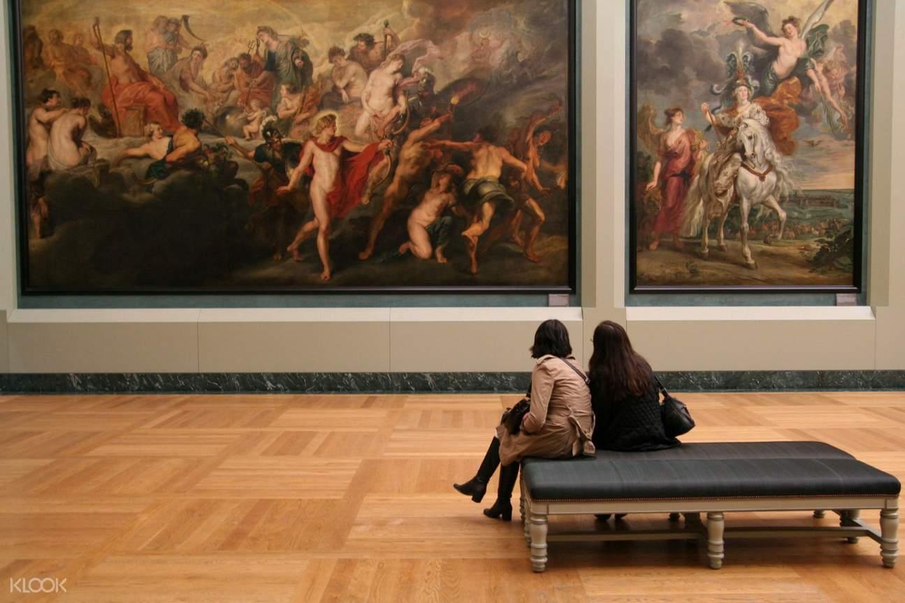 盧浮宮博物館內部