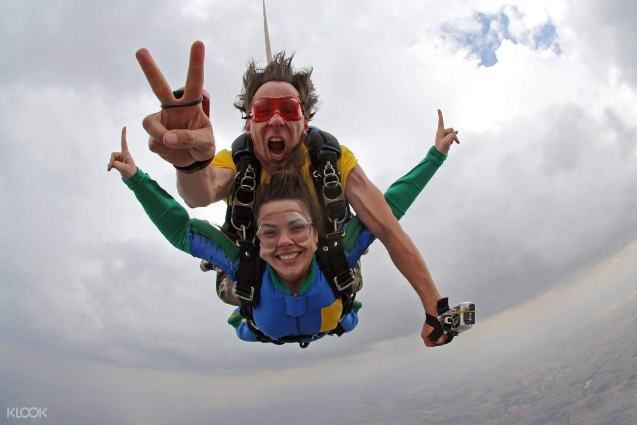 布裏斯班高空跳傘