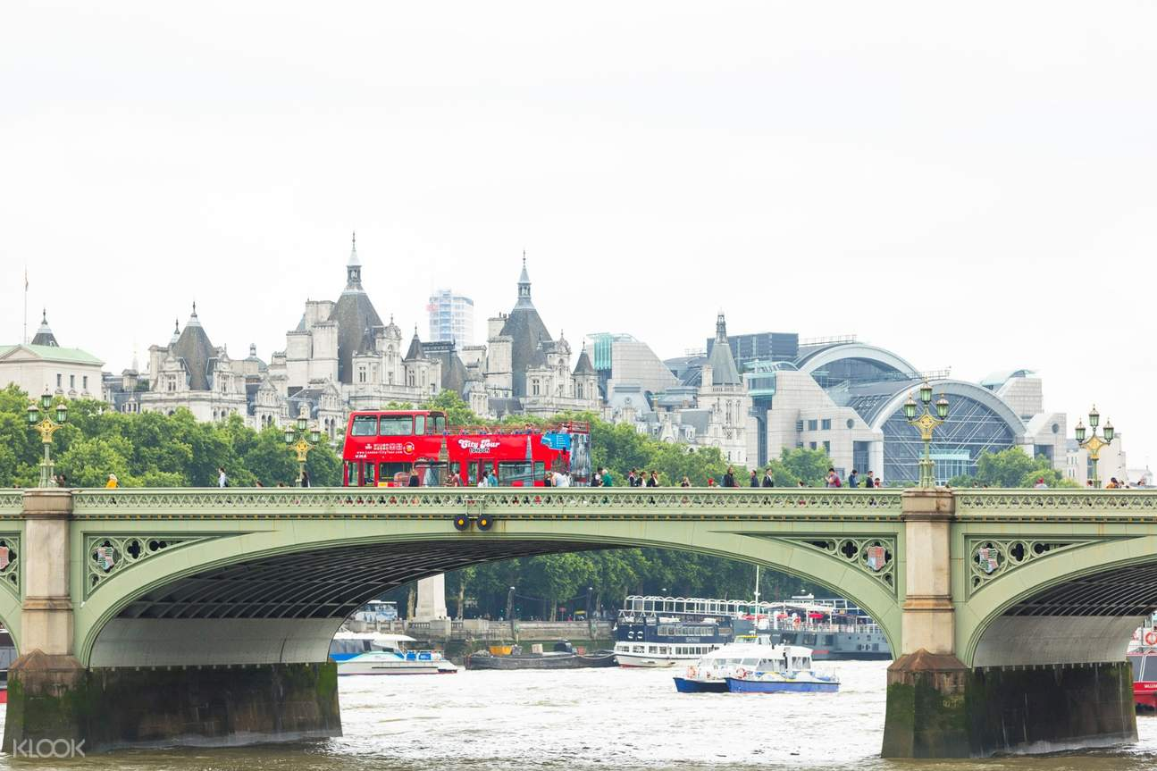 london hop on hop off bus