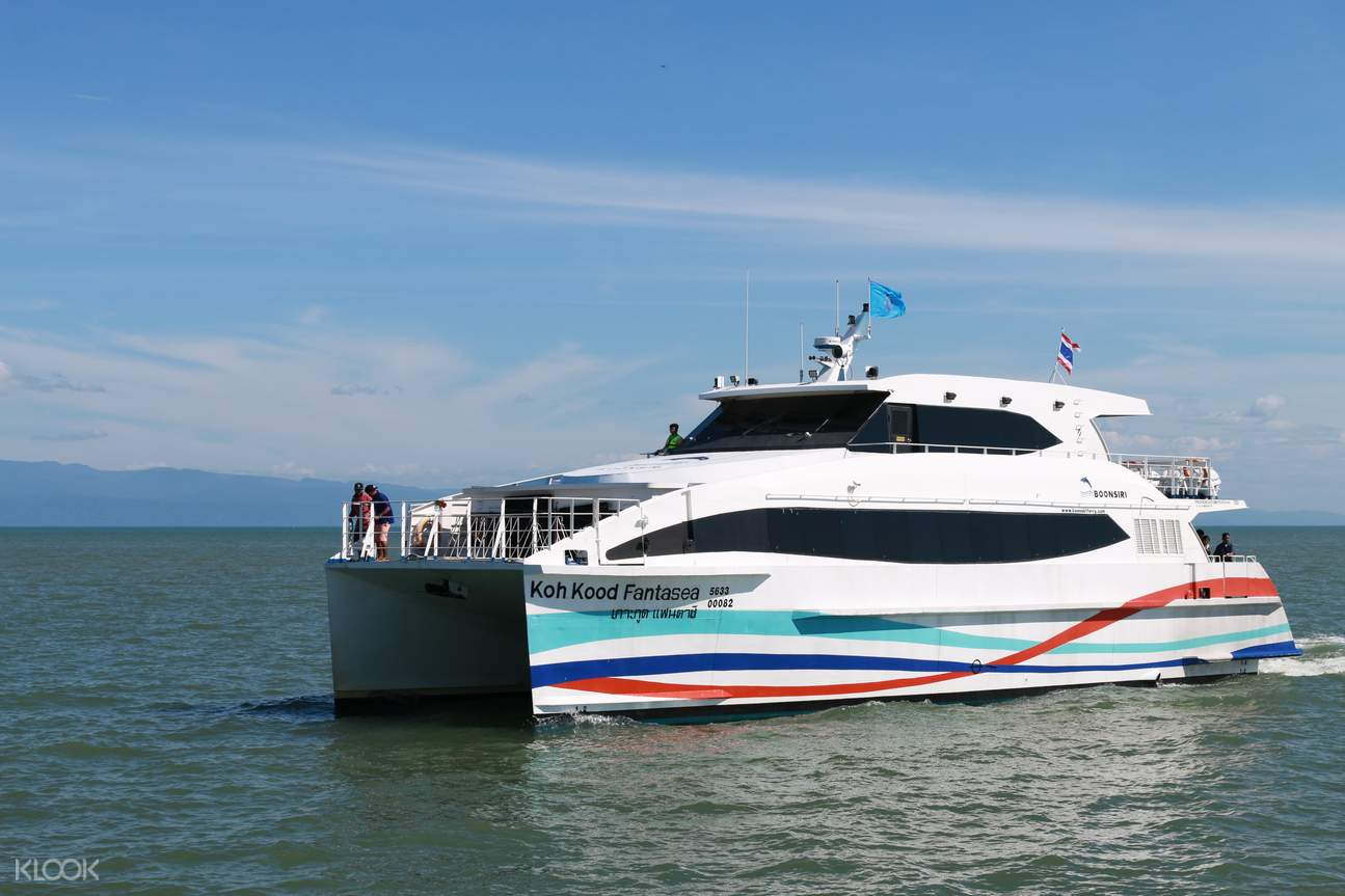 Combined Ferry & Bus One Way Transfer (Koh Chang/Koh Kood/Koh Mak to/from Bangkok)