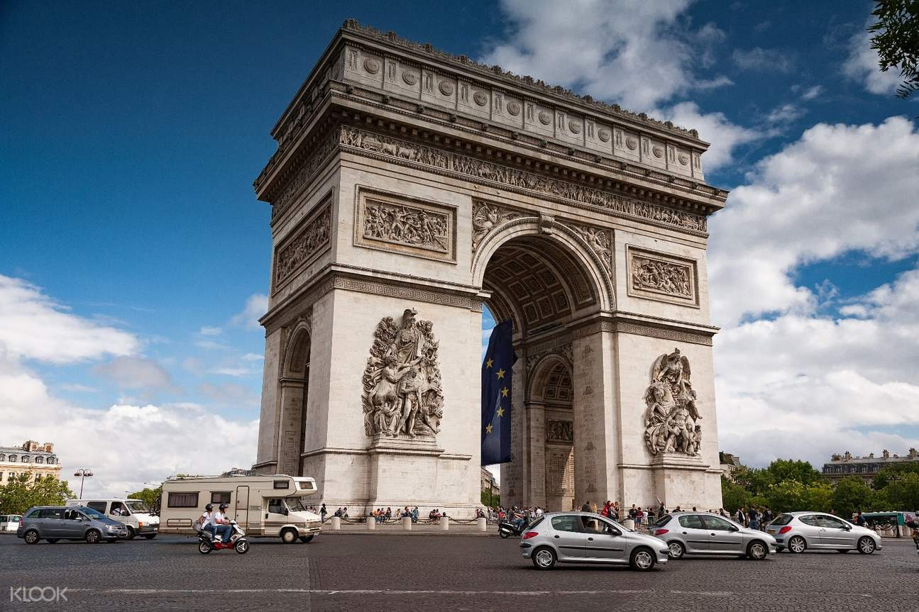 triomphe paris tour