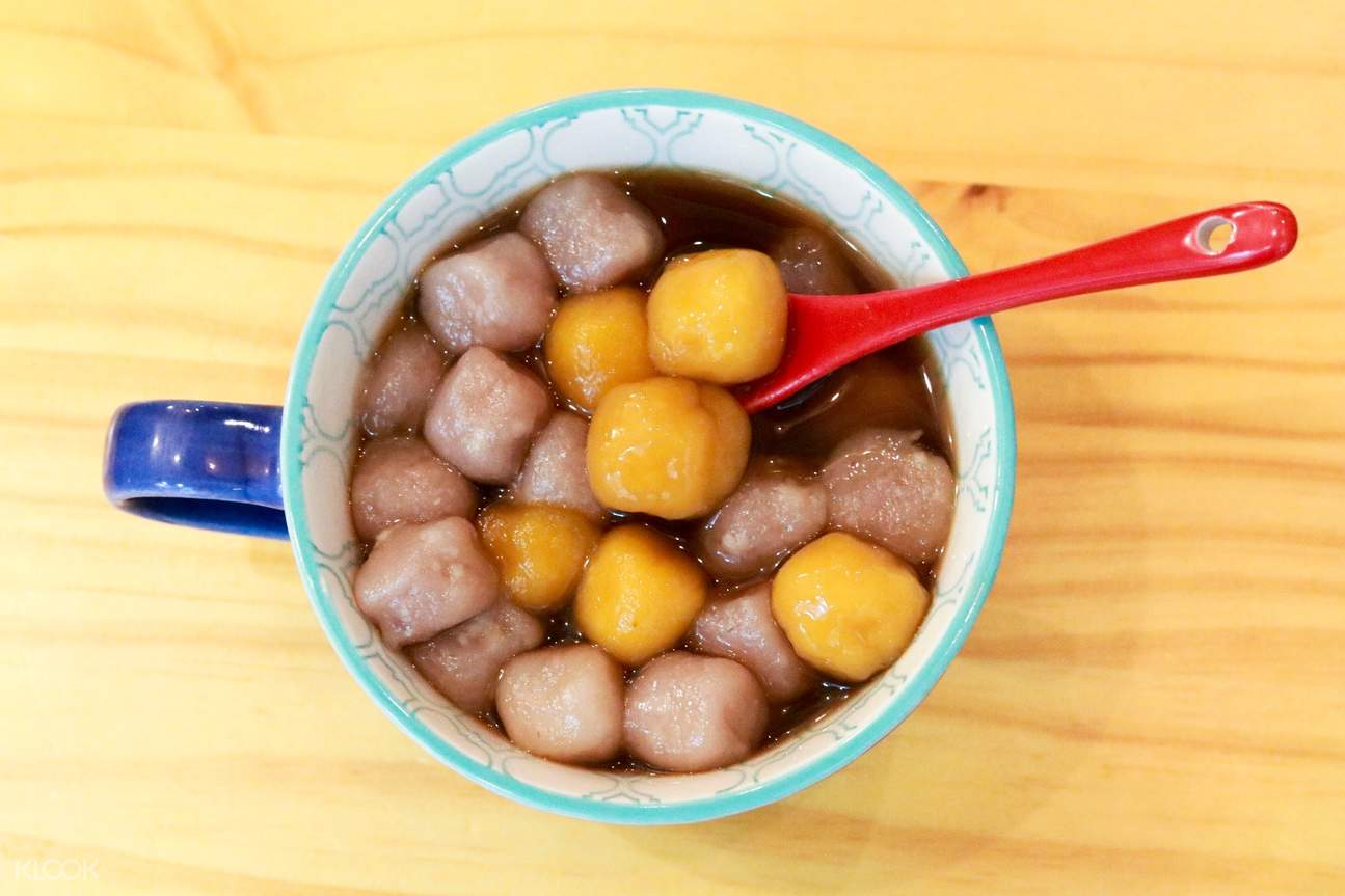 Taro Balls with Brown Sugar Tea at Southern Taiwan Comfort in Sheung Wan and Kennedy Town!