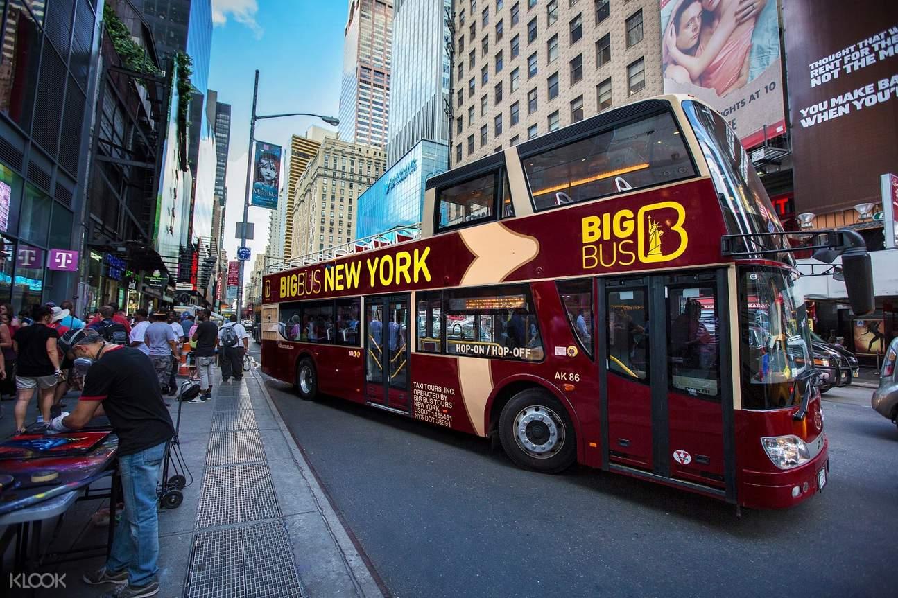new york hop on hop off bus