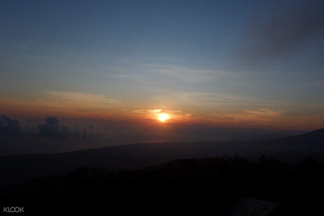 Mount Batur Caldera Sunrise