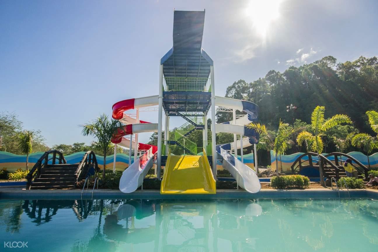 twin twister slide Adventure Beach Waterpark