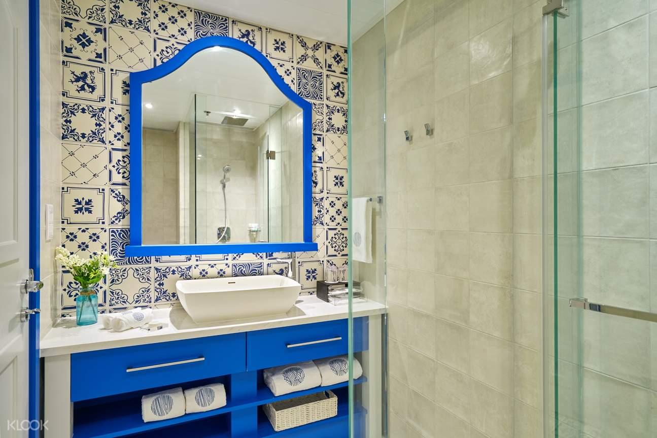 希臘客房浴室