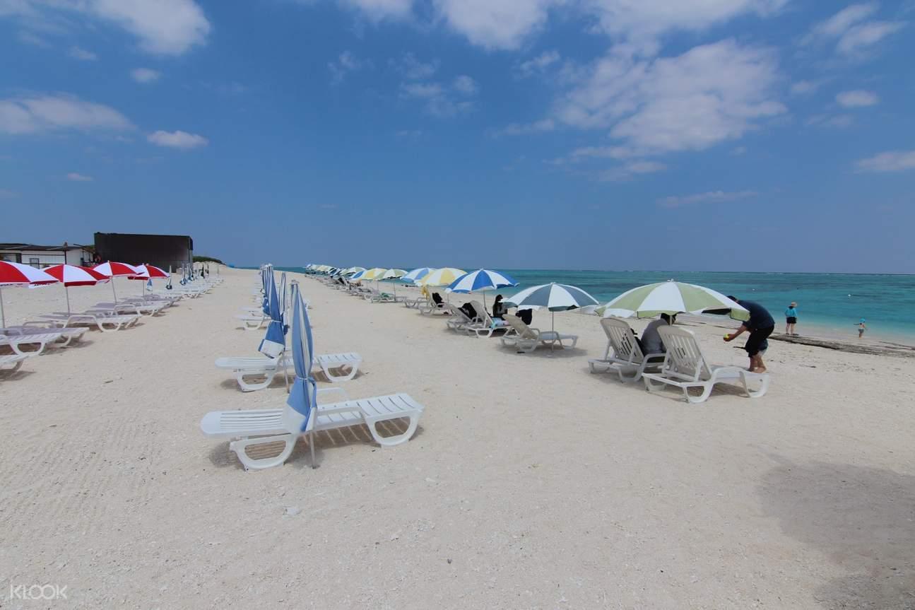 冲绳无人岛海水浴一日游