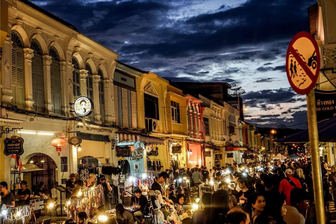 防疫旅遊|泰國真人導覽線上之旅|普吉島古城區