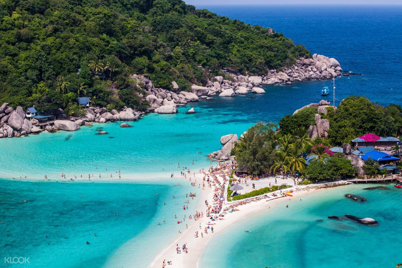 Koh Tao and Koh Nang Yuan Day Tour by Speed Boat