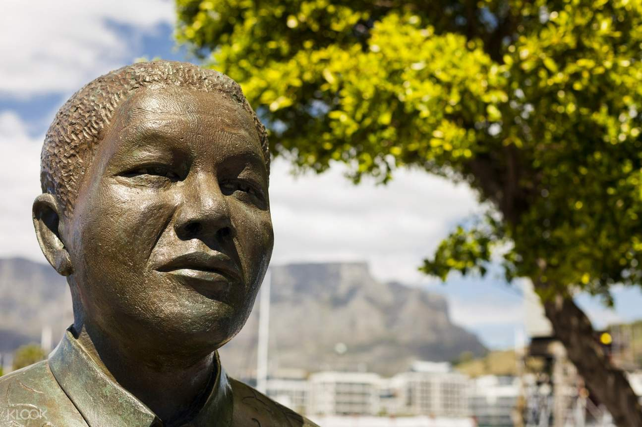 nelson mandela cape town city with table mountain day tour