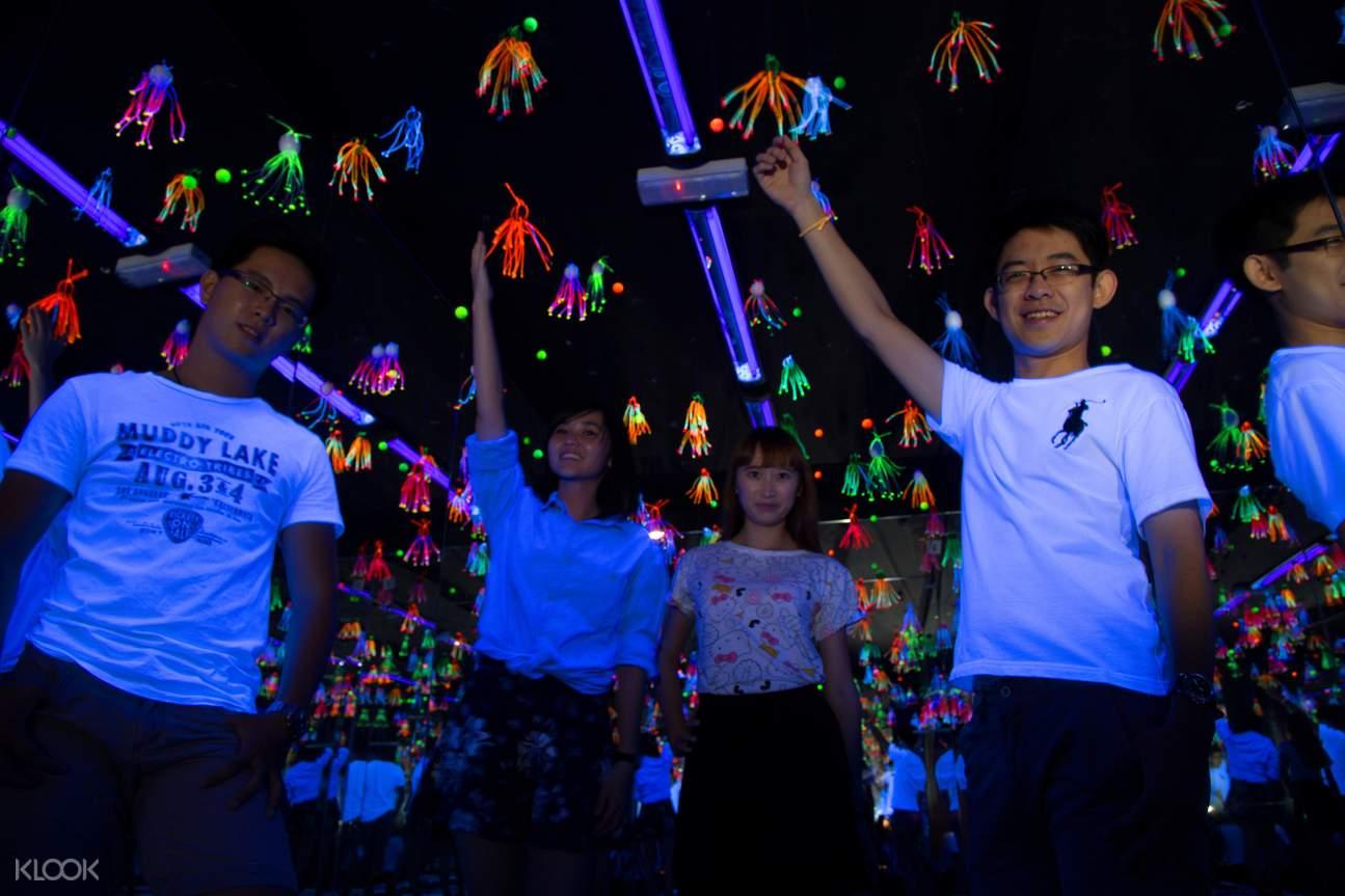 槟城大黑殿3D荧光博物馆
