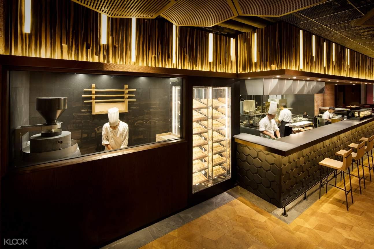 open kitchen mian studio city macau