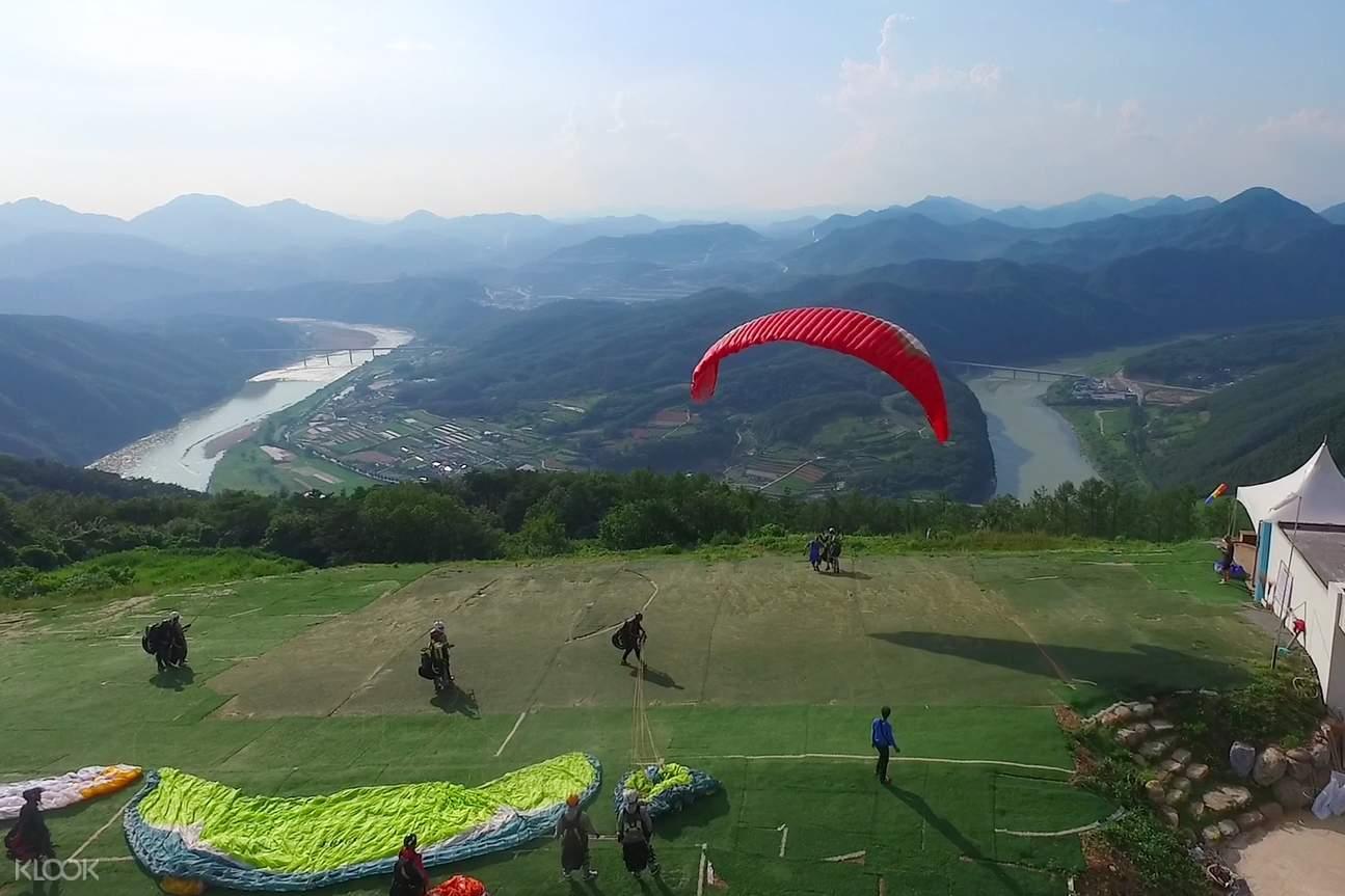 paragliding danyang