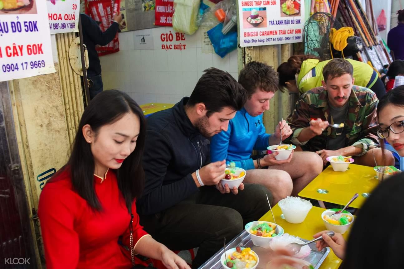 越南 河內美食發現之旅& 摩托車騎行體驗 水果沙拉組合