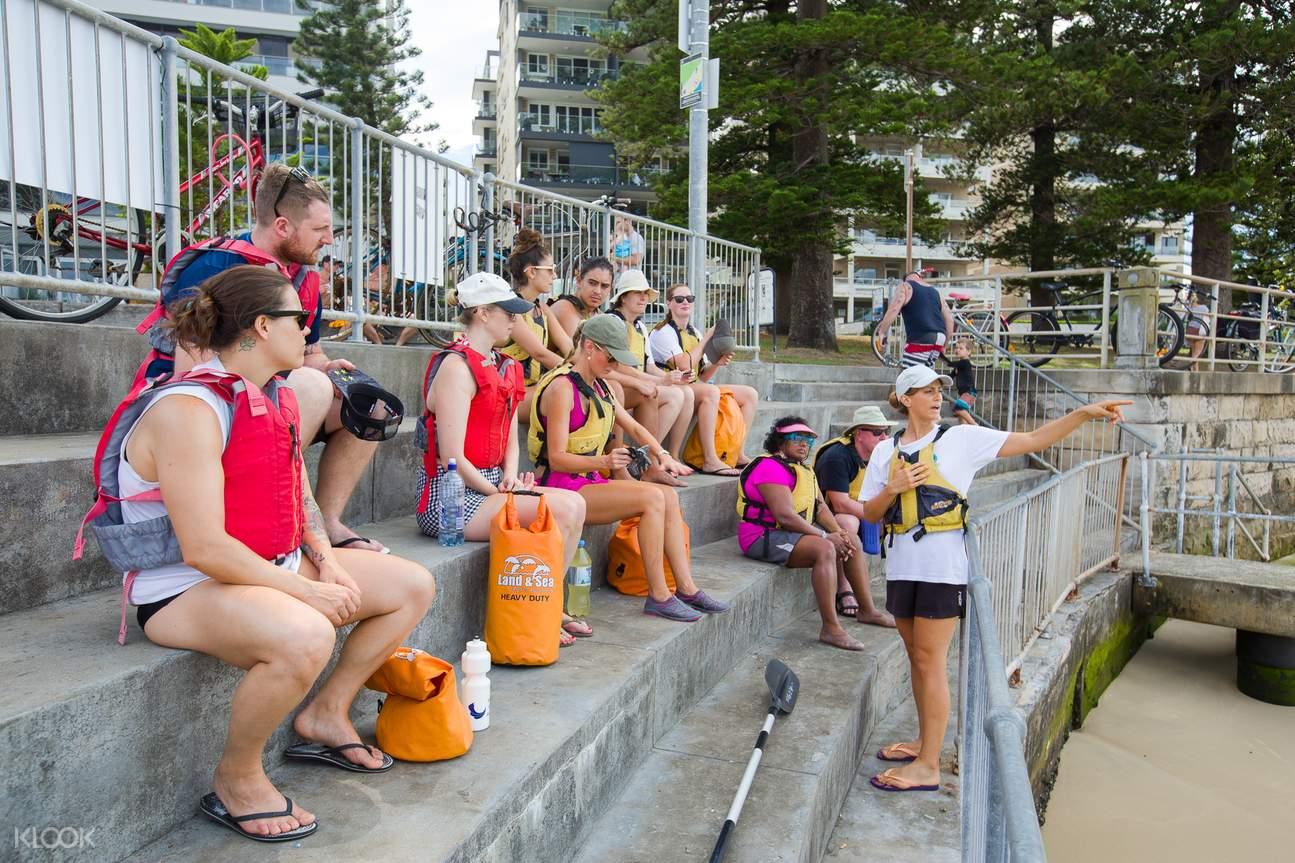 manly beach kayak tour