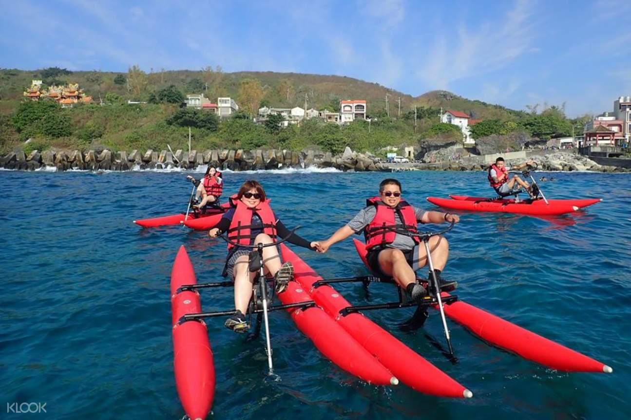 小琉球水上自行車體驗