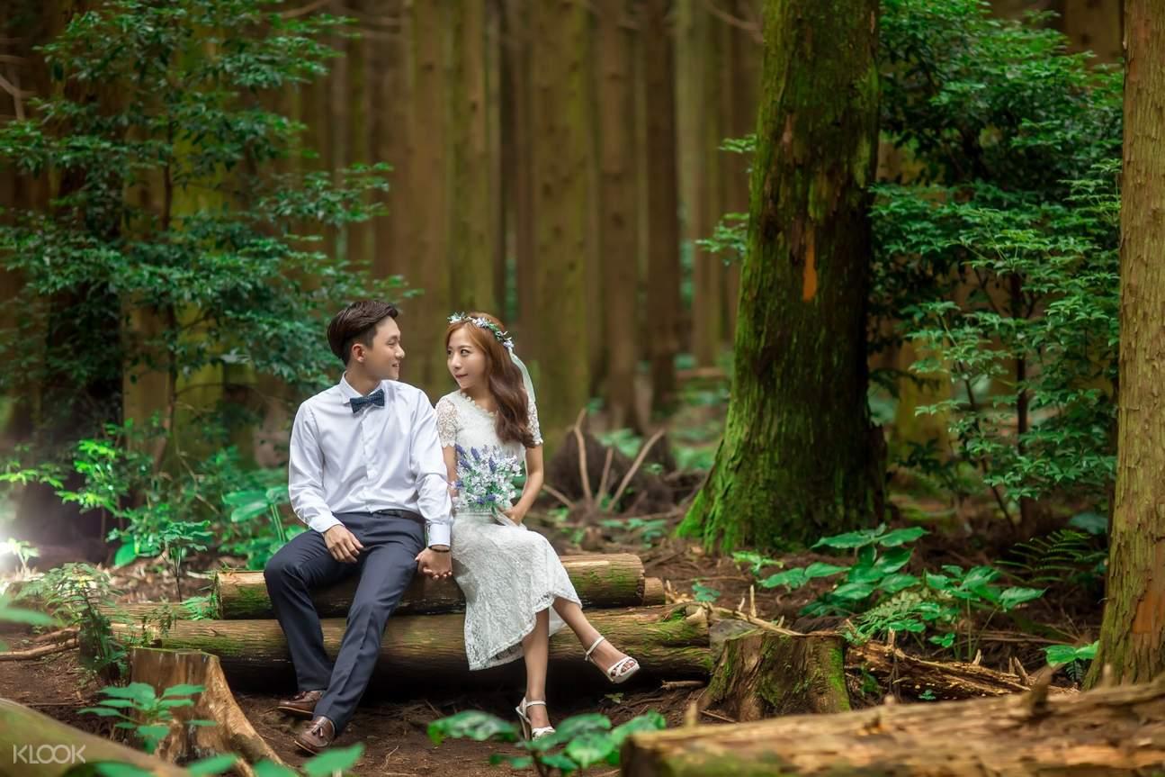 济州岛婚纱摄影
