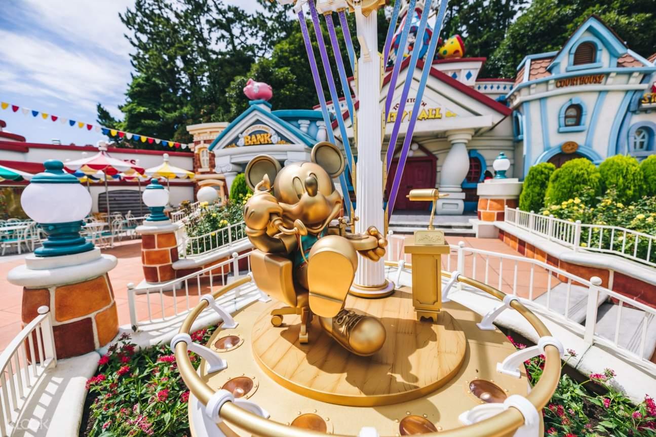 東京迪士尼樂園/迪士尼海洋1日票