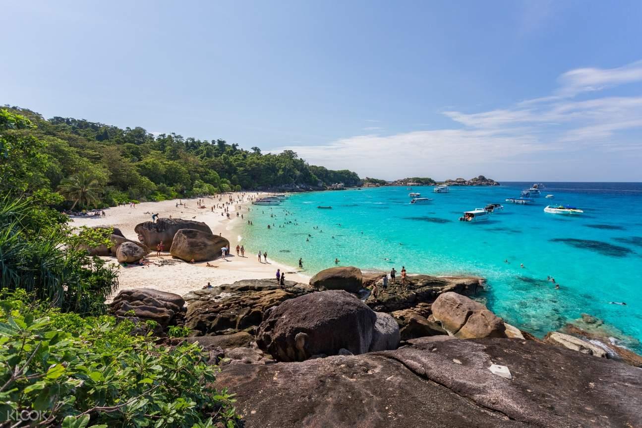 西密蘭群島浮潛一日遊