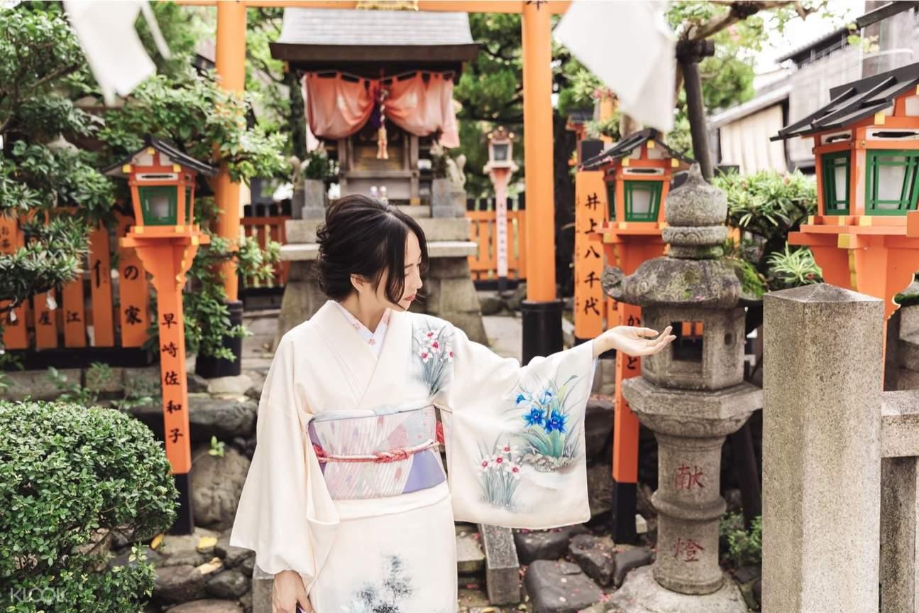 เช่าชุดกิโมโนร้าน Hanami Kimono
