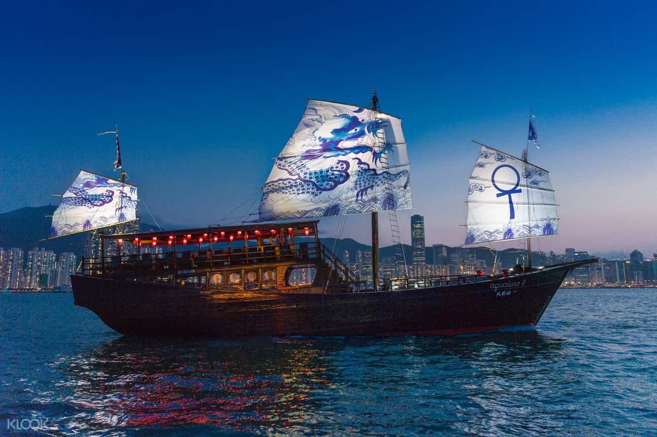aqualuna lamma island cruise