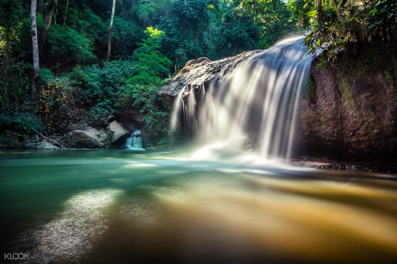 waterfall at Chiang Mai, Thailand