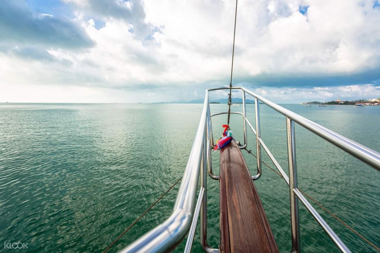 蘇梅島安通國家公園遊艇海上行