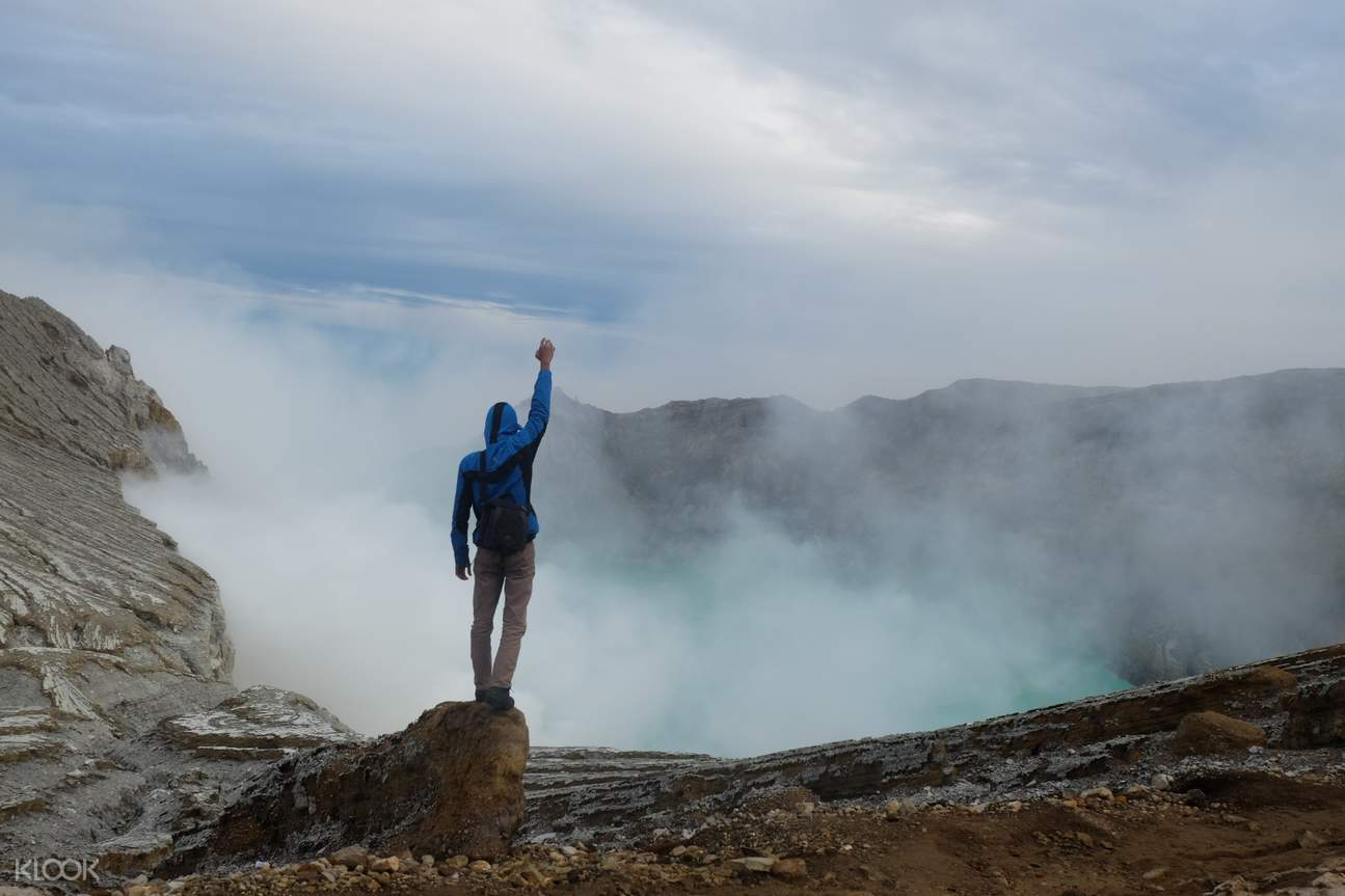 Ijen Crater Hiking Experience from Surabaya, Malang, or