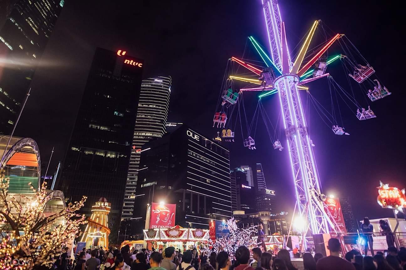 新加坡滨海湾保诚嘉年华(RFID卡内代币)