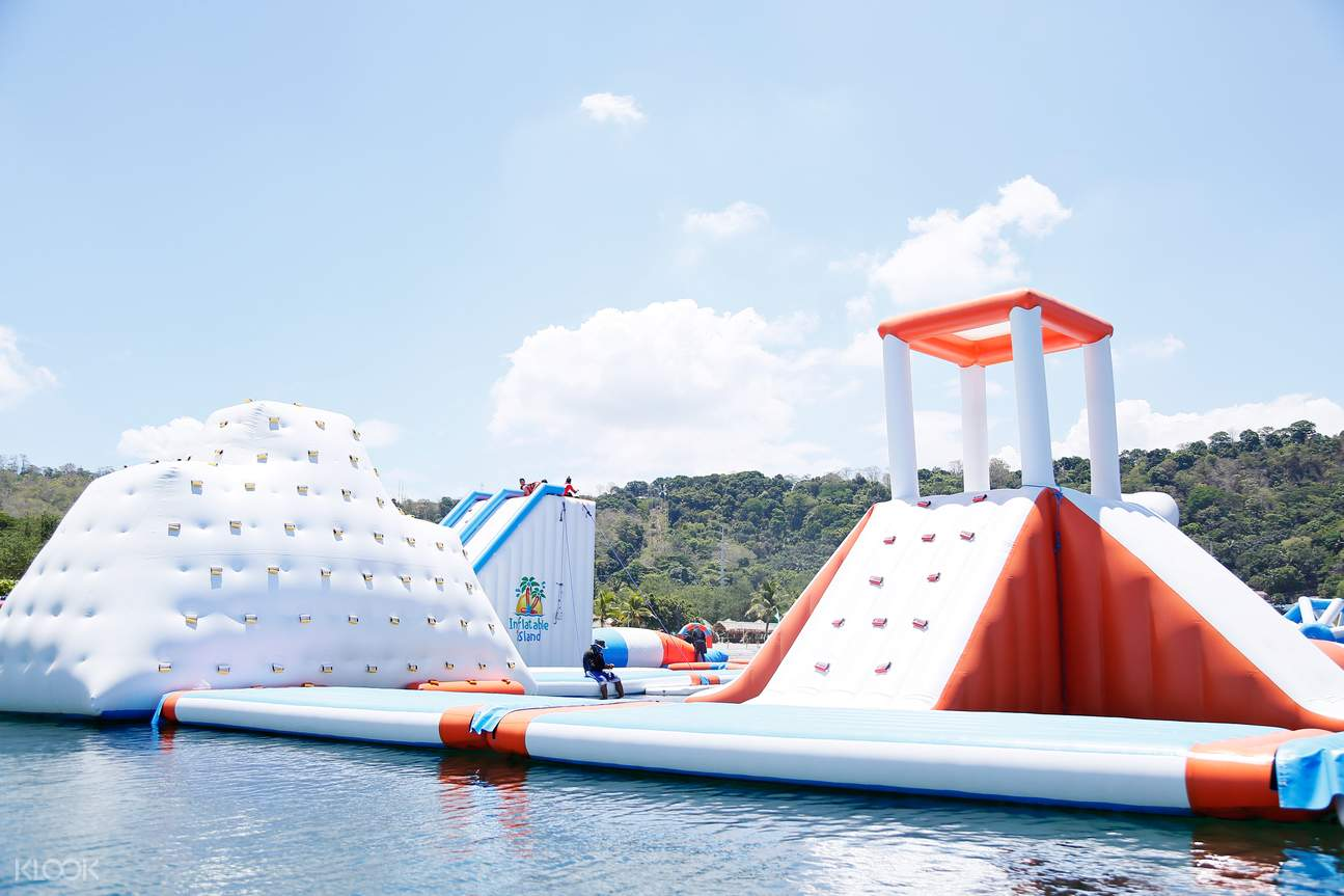Inflatable island