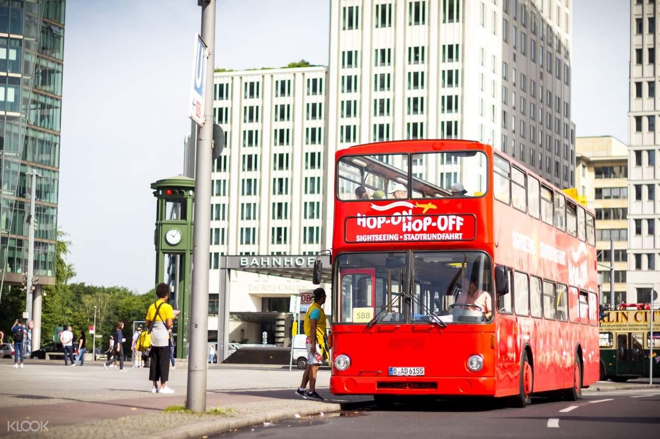 柏林隨上隨下觀光巴士