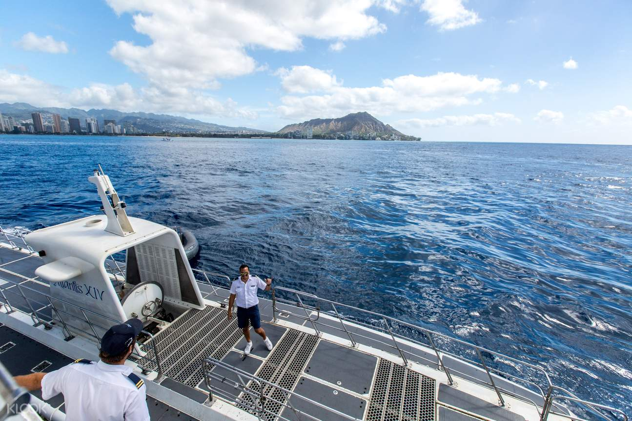 Hawaii submarine tour