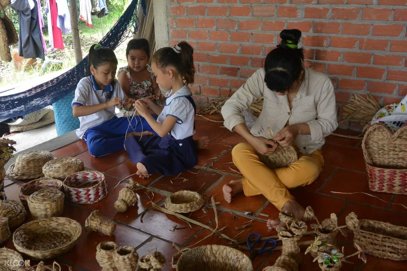 湄公河乡村