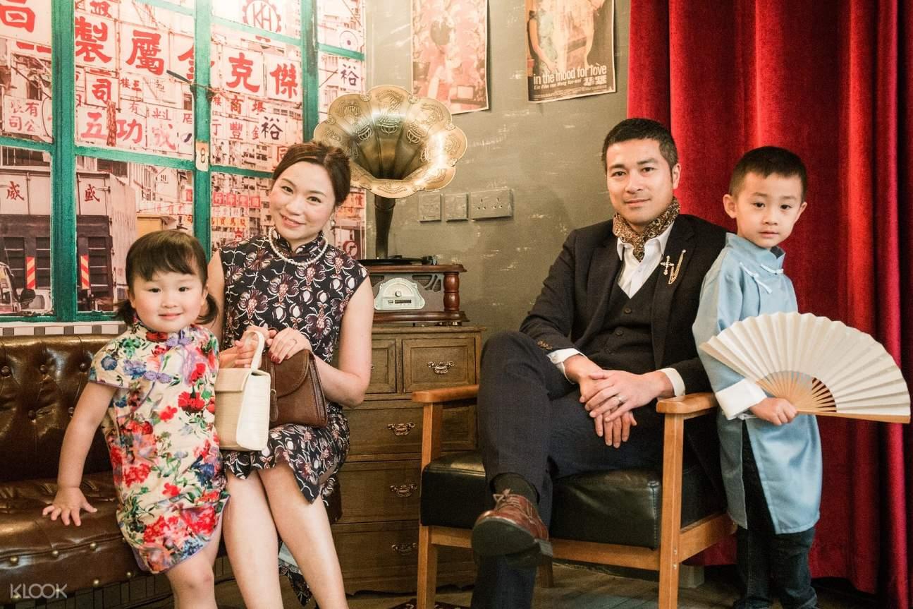 qipao rental and photography hong kong