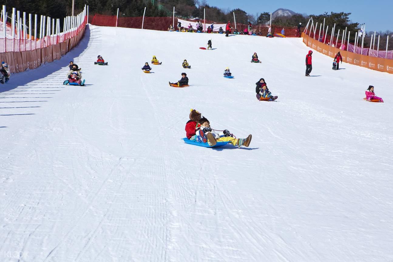 Elysian gangchon ski resort day tour