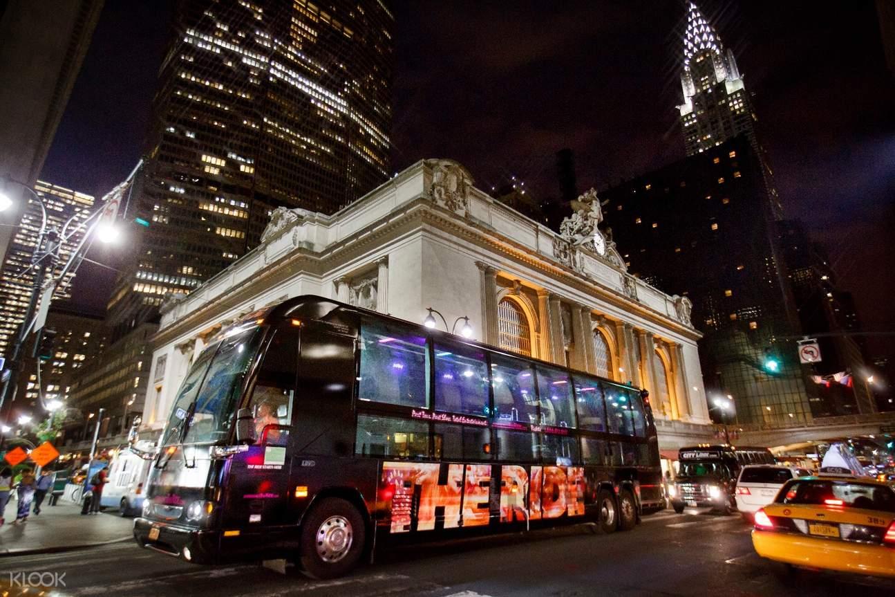 紐約The Ride移動劇院觀光巴士遊